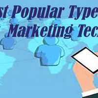 Most Popular Types Of Internet  Marketing Techniques