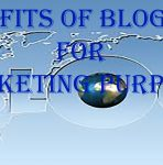Benefits of Blogging for Marketing Purposes
