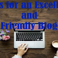 Tips for an Excellent and SEO Friendly Blog Post