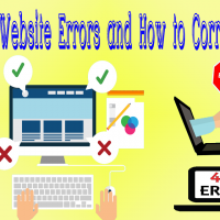 Common Website Errors and How to Correct Them
