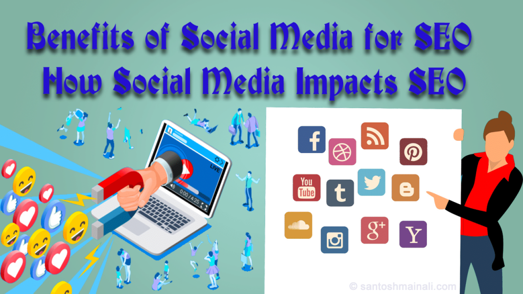 benefits of social media for SEO