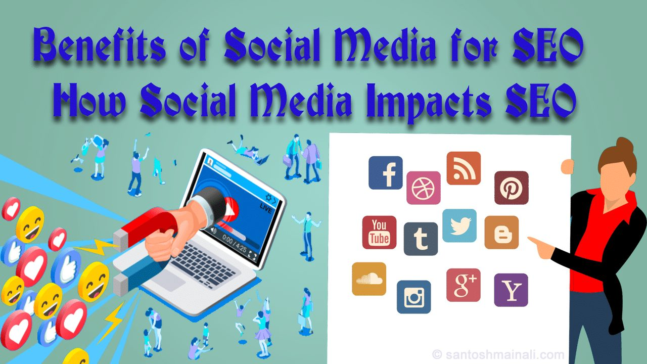 How Social Media Helps SEO, search engine optimization, Social Media Impacts SEO, social media marketing, The SEO Benefits of Social Media