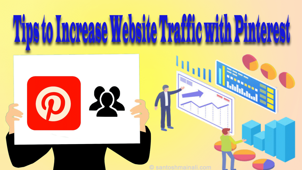increase website traffic with Pinterest