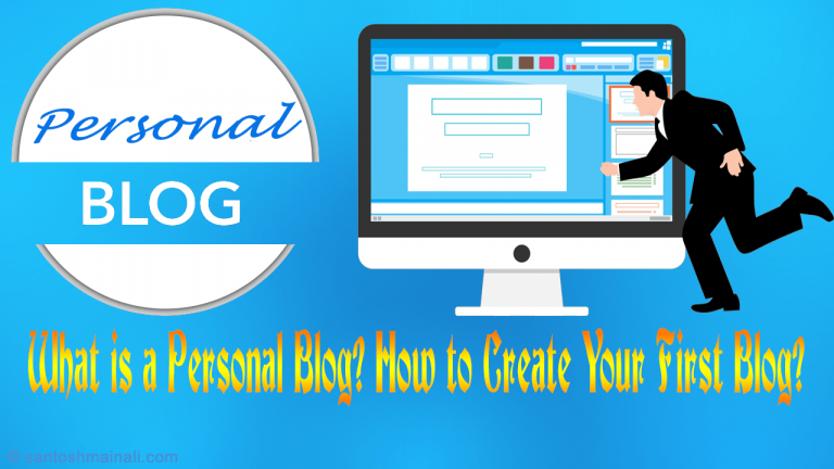 create a personal blog, personal blog, personal blogging, what is a personal blog